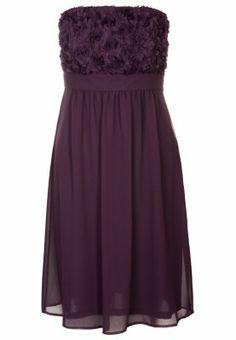 Cocktailkleid / festliches Kleid - aubergine purple
