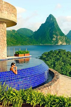 Spectacular Suites with Infinity Pools at Jade Mountain - VacationIdea.com