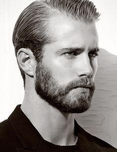 Tom Bull, Bearded Male Model.