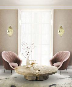 Coffee table / round / original design / wooden - EMPIRE - BOCA DO LOBO