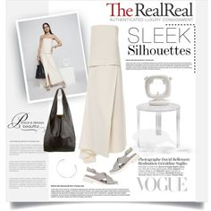 Spring Trends With The RealReal: Contest Entry by cruzeirodotejo on Polyvore featuring The Row, Robert Clergerie, CÉLINE, Maison Margiela, Kartell and TheRealReal