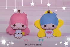 Dress And Sneakers Outfit, Art Projects, Projects To Try, Baby Mobile Felt, Kawaii Crafts, Felt Banner, Little Twin Stars, Felt Dolls, Felt Crafts