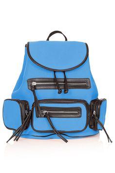Topshop neoprene backpack     $56.00