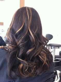 i love the colors of these peek a boo highlights.!!!! love love..