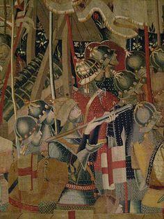 Monumental XV century Pastrana tapestry