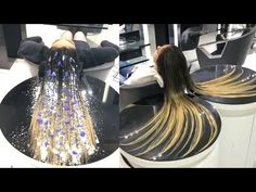 NEW Hair color transformation by @mouniiiir - YouTube