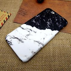 Black and white stitching mobile phone case for iPhone7 7S 7 7Splus iphone 5 5s SE 6 6s 6 plus 6s plus + Nice gift box 072601