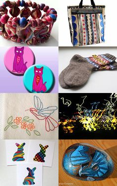 Our Colorful Captain by Dix Cutler on Etsy--Pinned with TreasuryPin.com