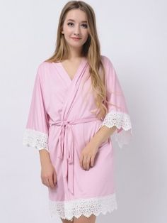 Our delicate bridesmaid pajamas are handmade and not mass produced in a factory.The pajamas are made of modal fabric, they are soft, comfy, lightweight, and actually something you would wear around the house.These become more and more soft Bridesmaid Robes Cheap, Bridesmaid Pyjamas, Bridesmaid Shirts, Wedding Stuff, Fabric, Pink, How To Wear, Pajamas, Clothes