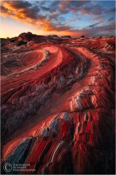 'Red Dragon' Vermillion Cliffs National Monument, Arizona.  Photo: © Zack Schnepf