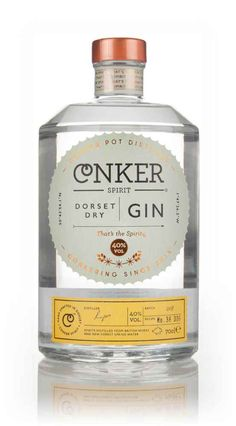 Conker Spirit Dorset Dry Gin - Master of Malt Packaging Label Design Triple Sec, Whisky, Mojito, Le Gin, Gin Distillery, Gin Tasting, Gin Brands, Gin Bar, Gin Lovers