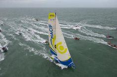Gabart and Le Cléac'h Smash through 84-Day Vendée Globe Record | Sail Magazine