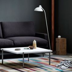 Heal's: we're simply in love with Fritz Hansen's 'Kaiser Idell' floor lamp. Just one of many products showcasing the very best of modern lighting design.