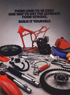 https://flic.kr/p/qXriKi | 1983 Honda XR350R Ad