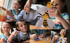 The Bee Tree- make a bee craft