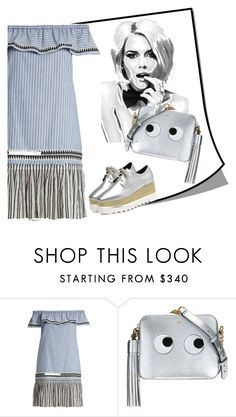 """Untitled #3769"" by julinka111 ❤ liked on Polyvore featuring Lemlem and Anya Hindmarch"