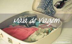 Just happy with less: Mala de Viagem...o que levei!