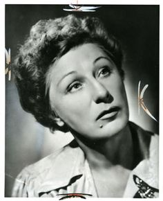 "Dame Judith Anderson, the greatest female character actress and movie villainess. It's hard to say which of her roles is my favorite but certainly Mrs Danvers in ""Rebecca"" is brilliant."