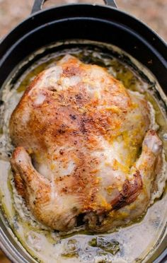 Jamie Oliver's Chicken in Milk Is Probably the Best Chicken Recipe of All Time - poulet Best Chicken Recipes, Turkey Recipes, Meat Recipes, Slow Cooker Recipes, Cooking Recipes, Healthy Chicken, Best Whole Chicken Recipe, Recipies, Best Chicken Dishes