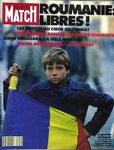 romanian boy with flag Romanian revolution revolutia romana 1989 History Of Romania, Romanian Revolution, Paris Match, Michel, Capital City, Photos, Adventure, Semper Fidelis, Flag