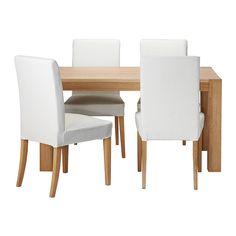 HÖGSBY/HENRIKSDAL Mesa con 4 sillas   - IKEA