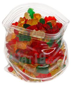 Vat19 by Unzipped Glass Bag Candy and Snack Bowl