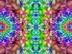 """""""Hormigueros en el planeta Psicodelium"""" Realizado con Gimp 2.8. http://www.sirenasinmar.blogspot.com"""