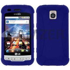 Amzer Silicone Skin Jelly Case - Blue