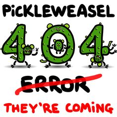 101 PickleWeasel picture riddles. Four books. Coming soon.