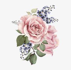 ручной росписью гуашь цветок, ручной, гуашь, цветокPNG и вектор