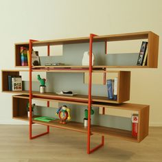 Libar Bookcase - Timeless furniture handmade in Italy: tables, chairs, sideboards and cabinets - Home Décor and Interior Design ideas from Italy's finest artisans - Artemest Handmade Furniture, Handmade Home Decor, Furniture Decor, Furniture Design, Outdoor Furniture, Industrial Home Design, Mid Century Furniture, Decoration, Designer