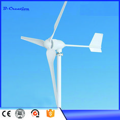 2017 Rushed Generador Eolico Gerador De Energia Wind Generator 2.5m/s Start-up Speed Three Phase 3 Blades 800w 24v For Turbine