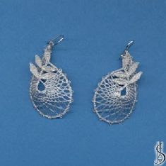 Earring No. 10258     Silver. Price: € 17 Other color variations are in the catalog. ............................  Protected by copyright!