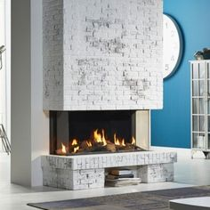 DRU Global 120 Triple BF is a contemporary, wide gas fire,with window and inspiring choices of fire display.This balanced flue model enhances a living room in the absence of a chimney Contemporary Gas Fires, Wall Gas Fires, Court Circuit, Stone Chimney, Ridge Vent, Fire Surround, Through The Roof, Stove Fireplace, Flat Roof