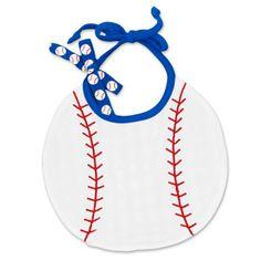 Baseball Baby Bib #baseball #baby #bib