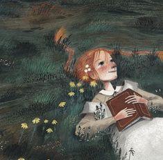 Anne of Green Gables illustration Anne Of Avonlea, Anne Auf Green Gables, Gilbert And Anne, Anne With An E, Anne Shirley, Children's Book Illustration, Illustrators, Wallpaper, Book Art