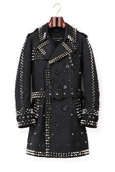 マッキントッシュのコートを新鋭ブランド「99%IS-」がスタッズでリメイク - DSM銀座で発売の写真1