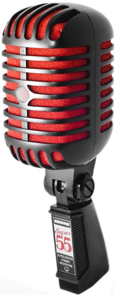Shure Super 55 Special Edition. Current live mic.