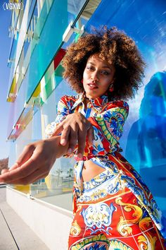 VGXW Magazine Style Editorial: Pompidou by Julia Roder