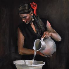 Emilia Wilk, 1983 ~ Figurative painter