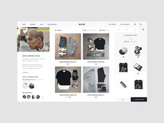 Hi everyone,    Some more explorations on a current e-commerce concept project that I'm working on. Trying to make the online shopping experience more fun, engaging and to bring the feel of real shop...