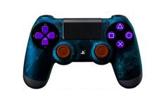 PS4Controller-BlueZombieHazard | Flickr - Photo Sharing! #moddedcontrollers #customcontrollers #ps4controllers #playstation4 #dualshock4 #PS4 #customps4controllers #moddedps4controllers