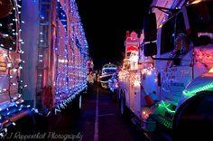 Christmas Truck Light Parade