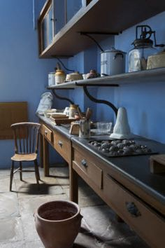 The pastry room at Tredegar House, Newport, South Wales.