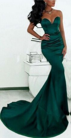 (Loki dress) dark green mermaid evening gowns_prom dresses long_prom dresses long open back_ (loki dress)