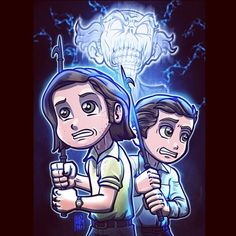 "Lordmesa Art — ""Done This Before""  @jaredpadalecki @jensenackles..."