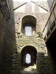 Norman (Angevin) Keep Interior - Peveril Castle