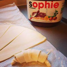 Mini croissants au Nutella, recette rapide et facile - Lucky Sophie, blog maman, famille nombreuse, bons plans