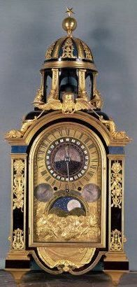 Astronomical clock for the Grand Dauphin Louis of France