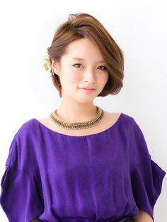 女優オーラをまとう3Dアシンメトリー[ヘアアレンジカタログ]All About ミーコ